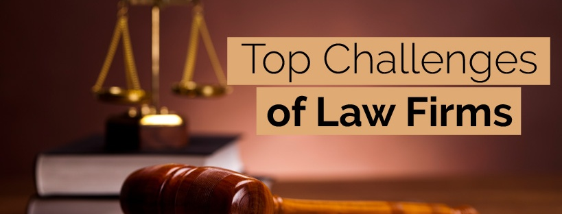 Top law firms challenges and ways to tackle them – Cogneesol